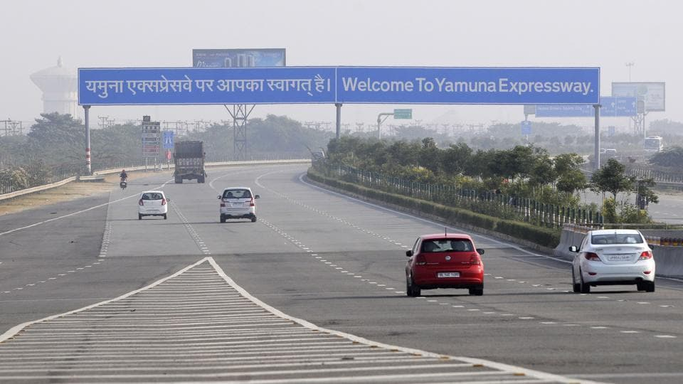 Yamuna Expressway,YEIDA,Agra to Delhi