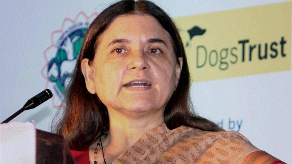 "Women and child development minister Maneka Gandhi came under fire following her comment on a TV show on Monday ahead of International Women's Day on March 8 where she justified early curfew for girls in hostel, saying it is needed to protect them from their own ""hormonal outbursts"""