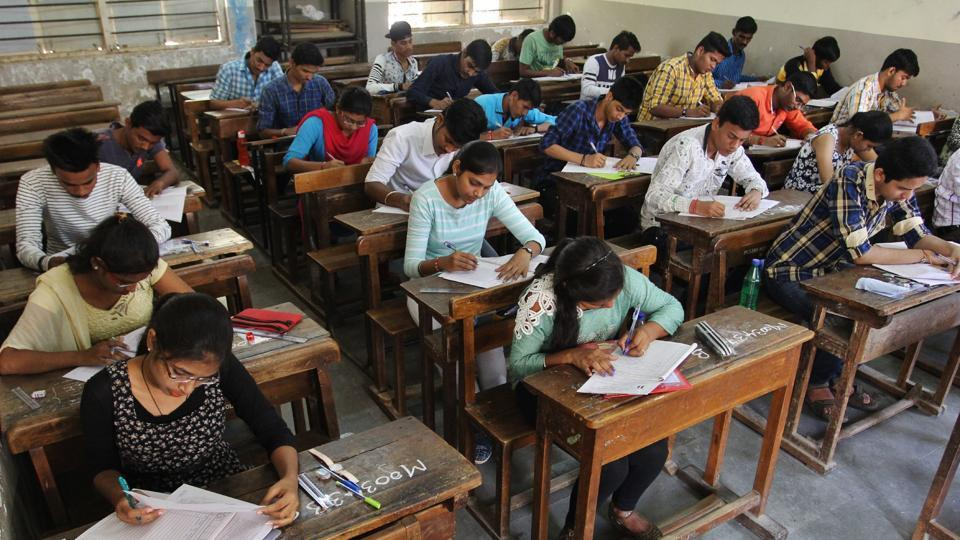 During SSC and HSC exams, students are expected to gather in the exam rooms by 10. 30 am and question papers are handed out at 10: 50 am, so that they get 10 minutes extra-time to read the paper.