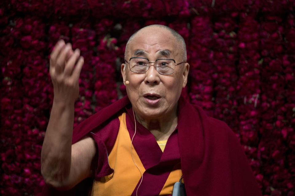 China would also be angry that the Dalai Lama said he may be the last in line.
