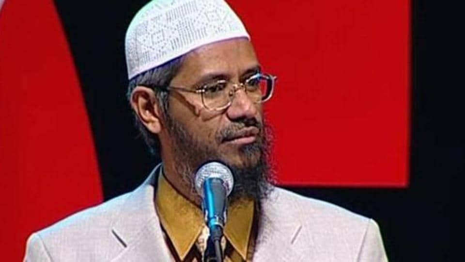 File photo of controversial Islamic preacher Zakir Naik.