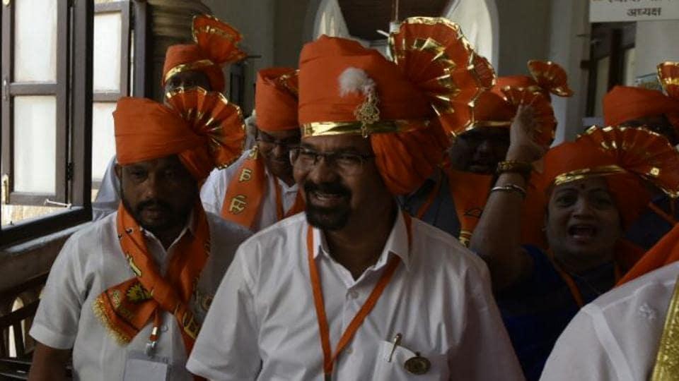Mumbai's 76th mayor Vishwanath Mahadeshwar.