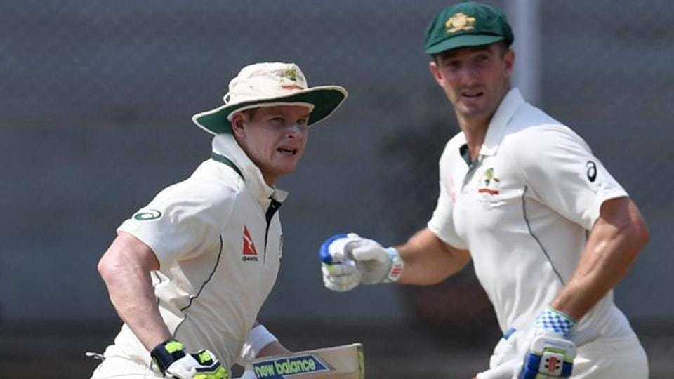 Steve Smith said that he did ask Shaun Marsh to ask for a review after his dismissal against India in Bangalore.