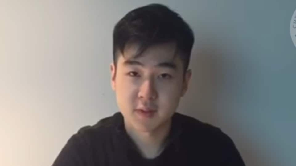 Cheollima Civil Defense group claims the individual in the video is Kim Jong Nam's son Kim Han-Sol.