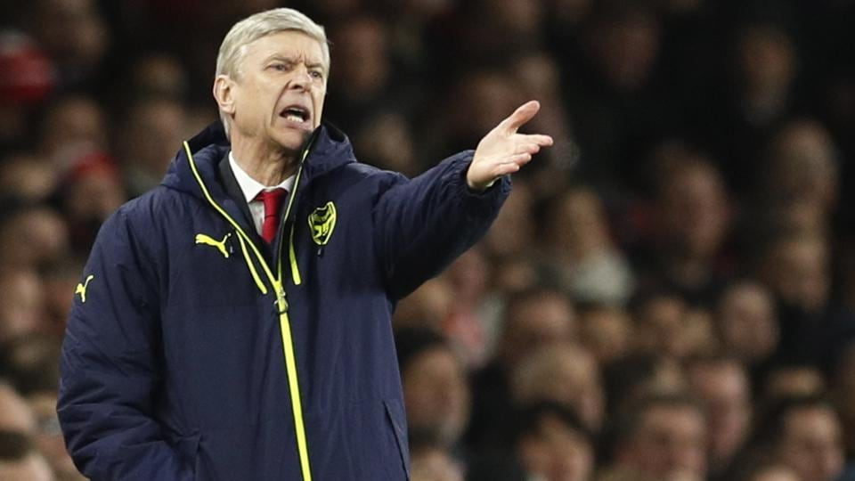 Arsene Wenger was left distraught by Arsenal's 5-1 defeat against Bayern Munich in the UEFAChampions League.