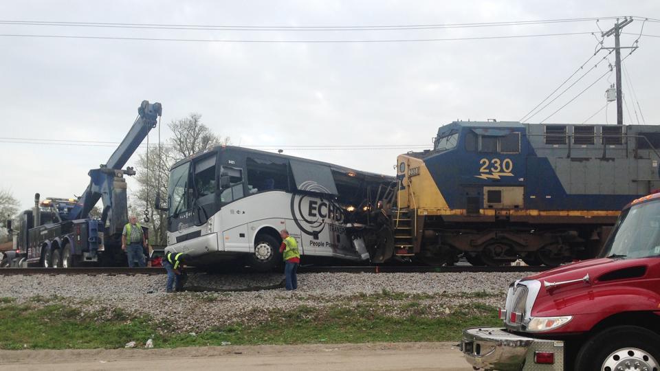 Mississippi,Train accident,Train