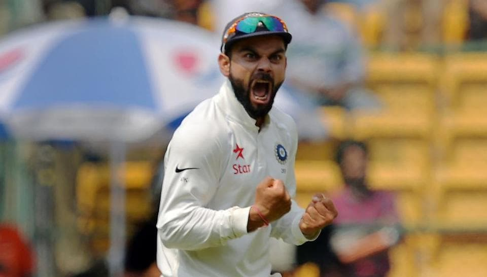 Virat Kohli, India captain, was slammed by Ian Healy for being over-aggressive in the second India vs Australia Test.