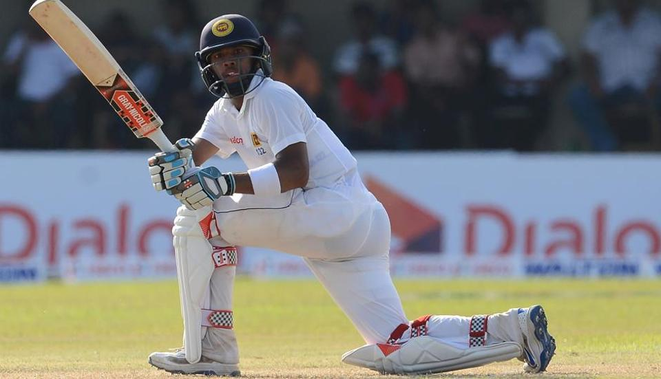 Sri Lanka cricket team's Kusal Mendis notched up his highest Test score as Sri Lanka reached 494 against Bangladesh during the 1st Test at the Galle International Cricket Stadium.