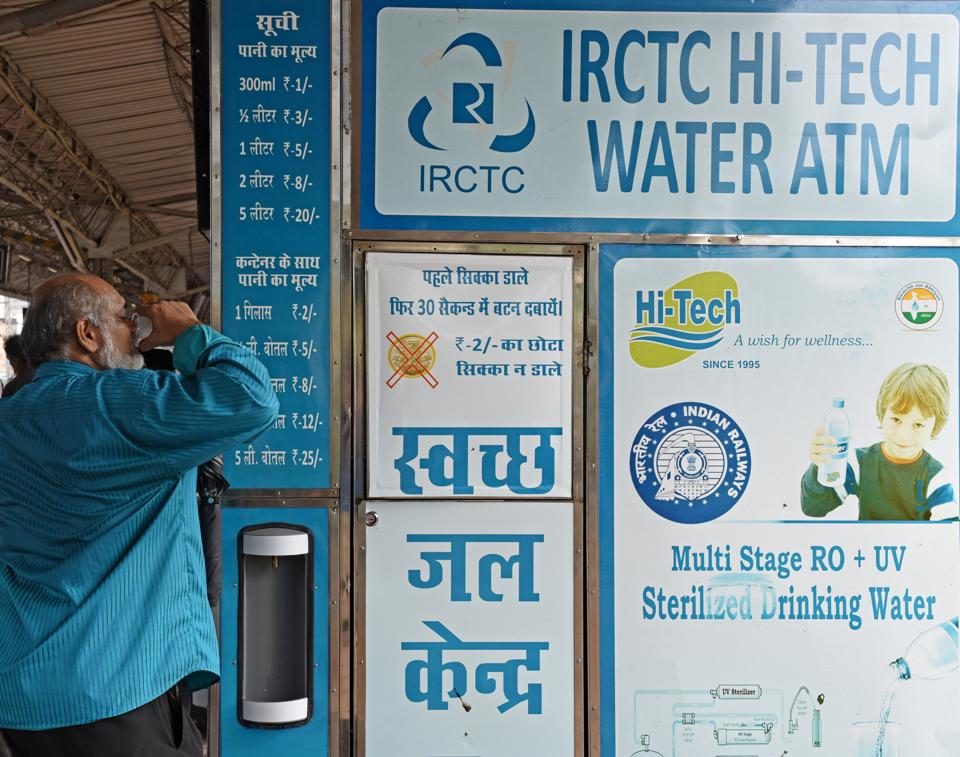 water vending machines,Water ATM,Borivli