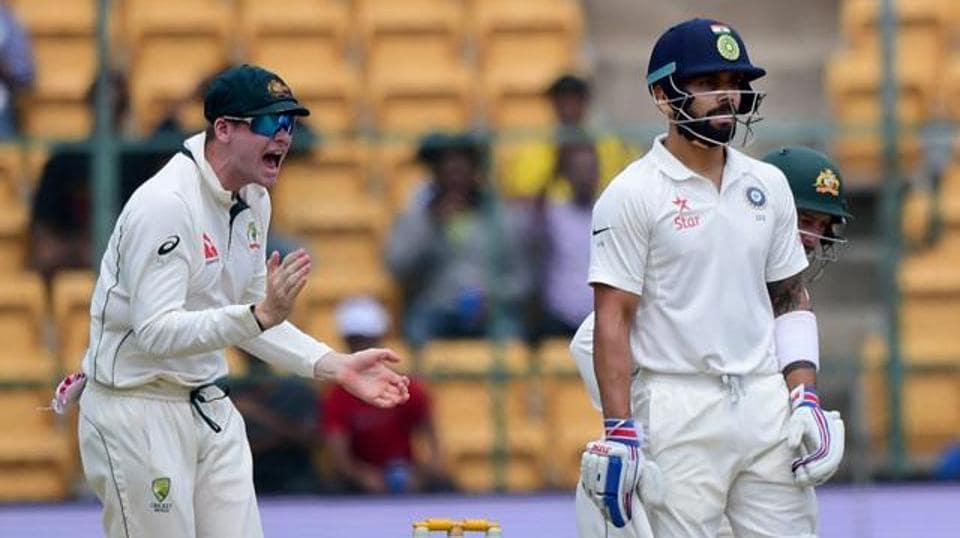Virat Kohli and Steve Smith were involved in a DRSrow during India vs Australia second Test.