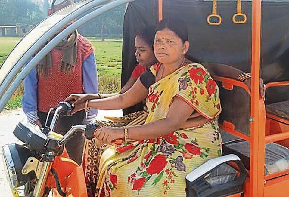 e-autos,women drivers,Santwana Bharti