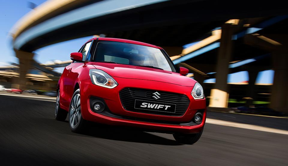 New Suzuki Swift, which will be one of the two facelift Maruti Suzuki India will launch in the next fiscal.