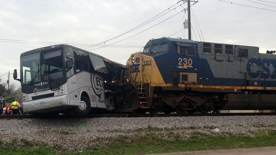 Biloxi,Train-bus accident in Biloxi,Mississippi bus accident