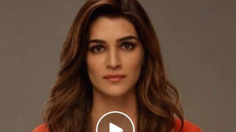 In a silent video, Bollywood actor Kriti Sanon underlines the fact that women need much more than hollow words on one day to create a safer space where all the genders are equal.