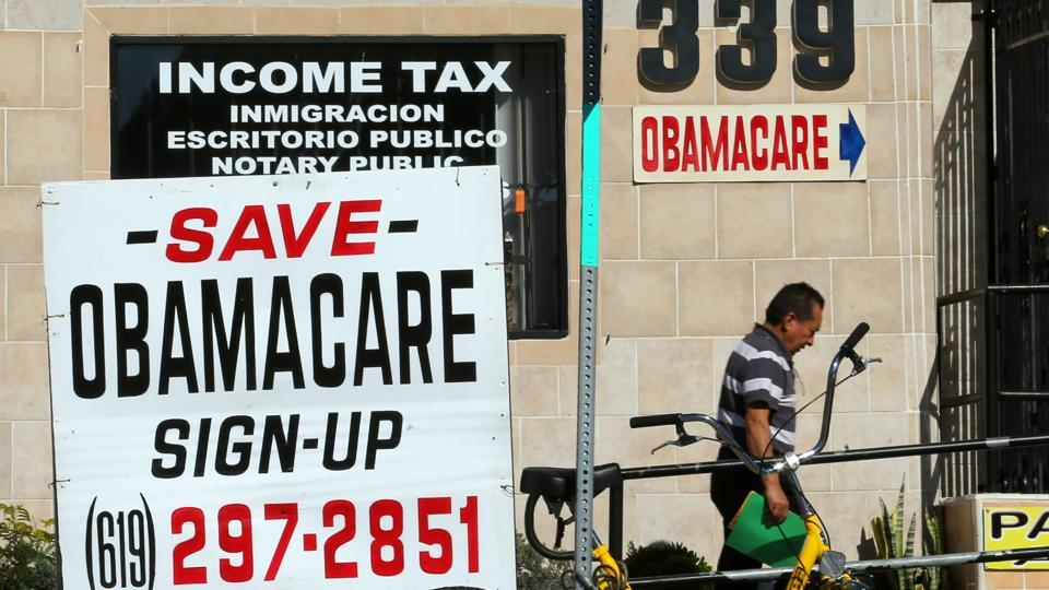 The Obamacare law allowed states to expand Medicaid to cover more low-income individuals and their families at costs borne largely by the federal government.
