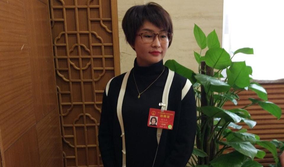 Chinese Parliament,Tie Feiyan,second youngest Chinese parliamentarian