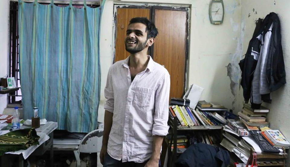 Discover Delhi: Inside Umar Khalid's hostel room in JNU ...