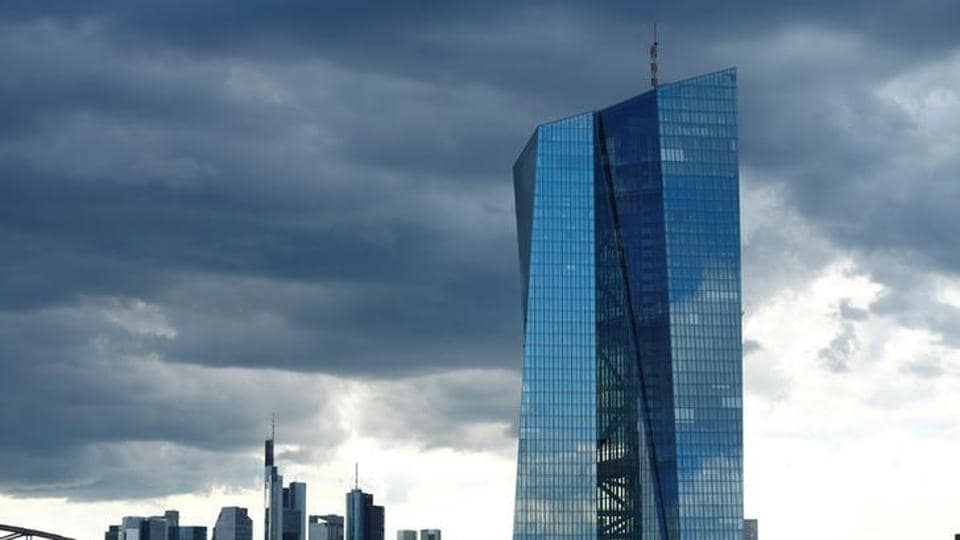 European Central Bank (ECB) headquarters in Frankfurt, Germany