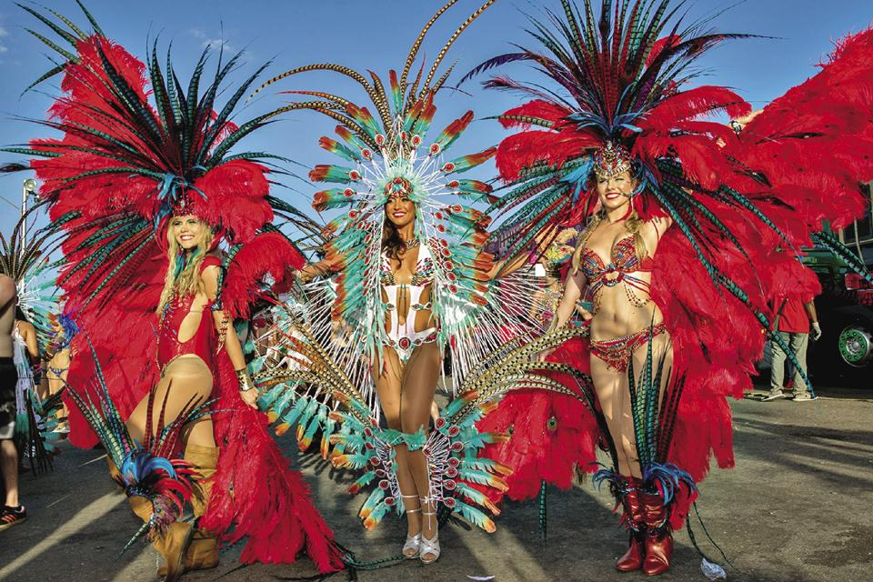 Trinidad is known for its carnivals, especially the Harts Carnival which takes place in February