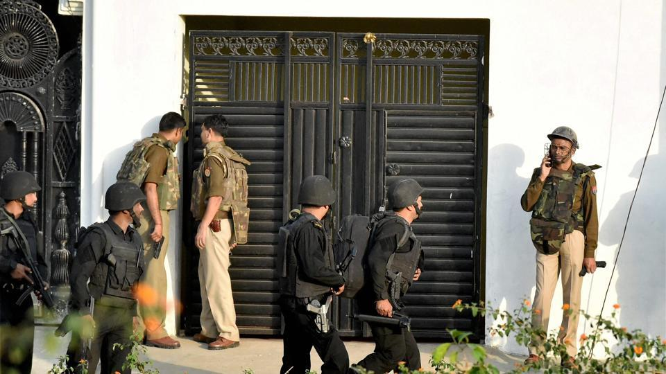 Lucknow encounter,ISIS,Centre