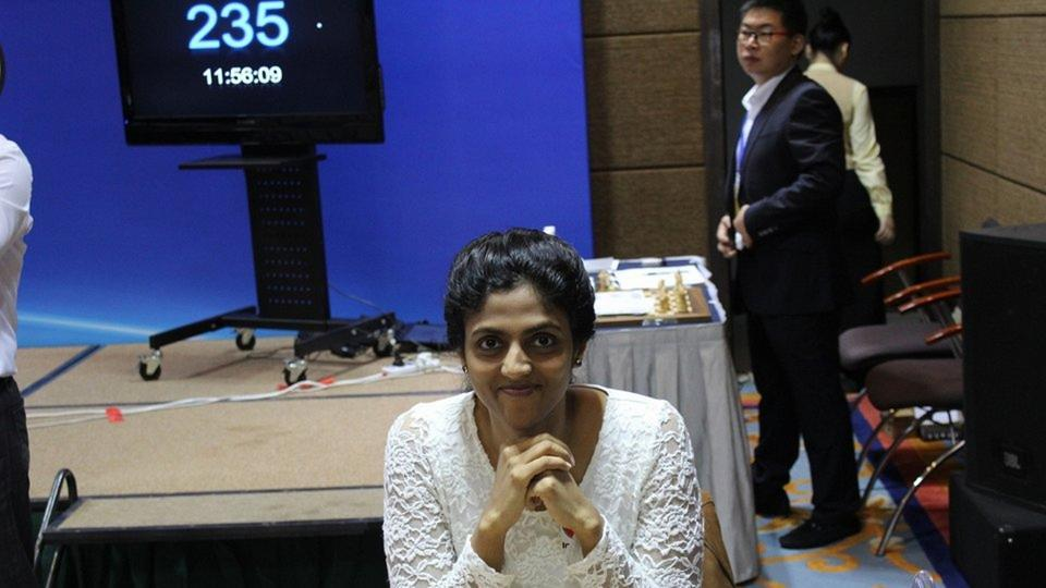 Harika Dronavalli won the bronze medal for the third time in the 2017 Women's World Chess championship in Tehran as she lost to the eventual tournament winner Tan Zhongyi.