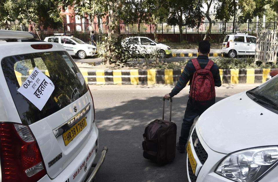 Ola,Uber,app-based taxis