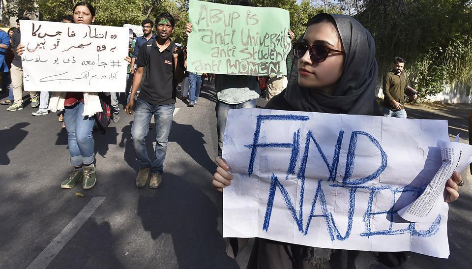 Najeeb,Najeeb missing,missing JNU student