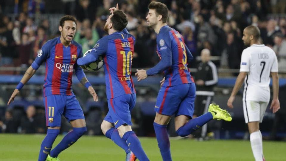 FC Barcelona,UEFA Champions League,Gerard Pique