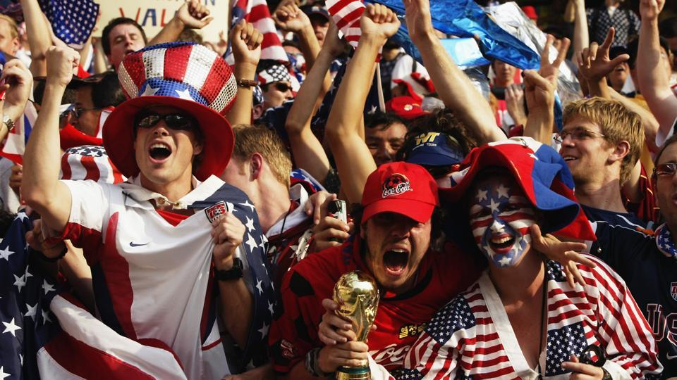 The United States, Mexico and Canada are mulling a three-way joint bid for the 2026 World Cup, with Los Angeles also bidding against Paris for the 2024 Olympics.
