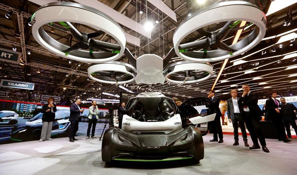 Geneva Motor Show,Airbus Pop.Up,Airbus Vahana