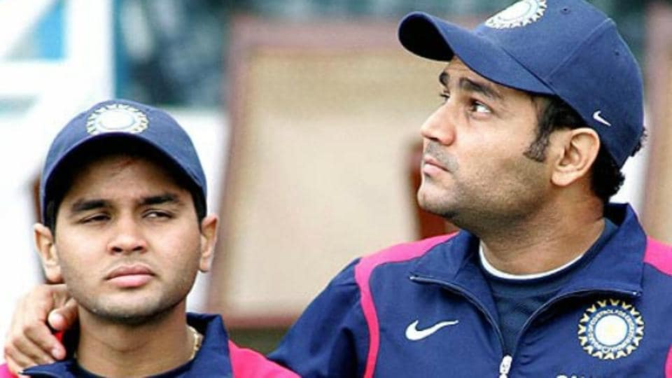 Virender Sehwag wished Parthiv Patel on his birthday in his wacky and hilarious style.