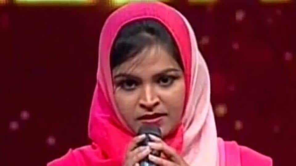 A Muslim woman in Karnataka was trolled online this week for singing a Hindu devotional song in a reality TV show.