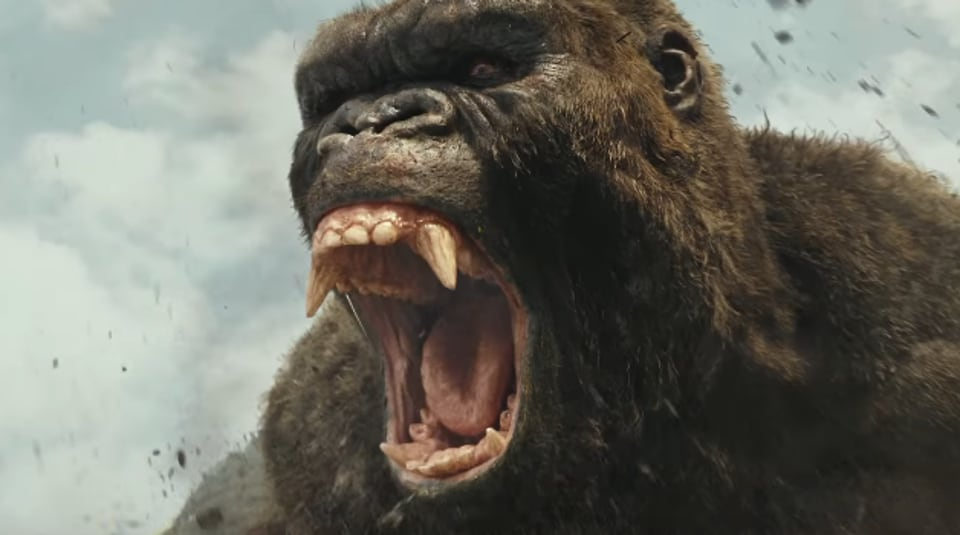 King Kong Vs Kong Skull Island