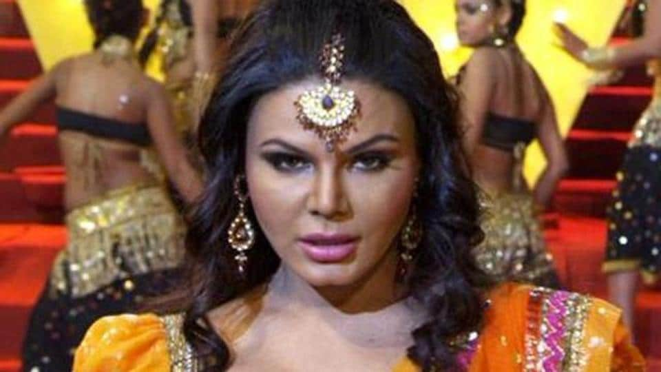 Rakhi Sawant is cashing in on the controversy around Ram Gopal Varma and his tweet on Sunny Leone.
