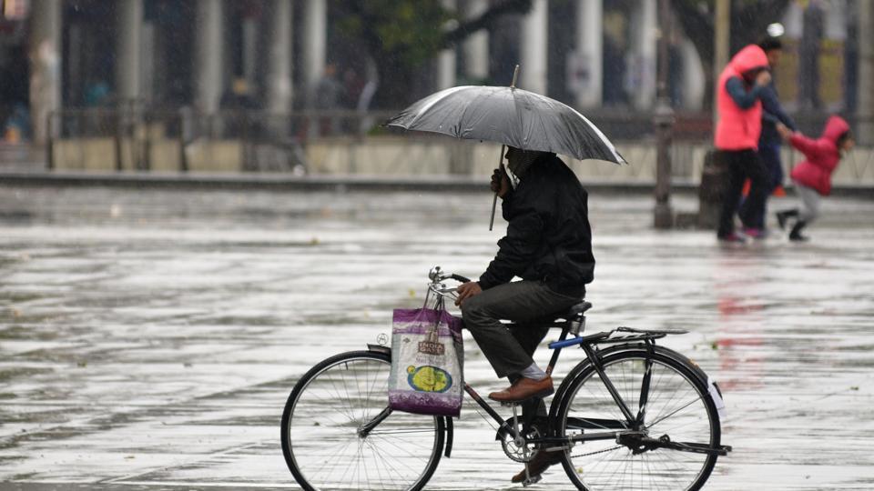 Rains,Weather,Temperature plummets