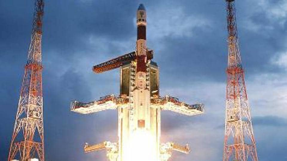 File photo of Chandrayaan-1 successfully taking off in 2008.