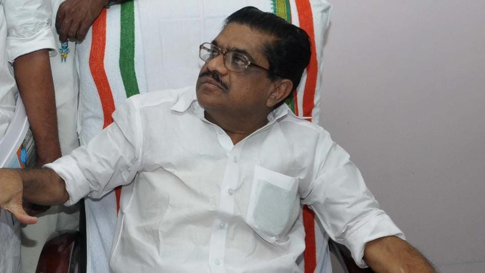 Kerala PCC chief resigns from the top party post on  health grounds on Friday .