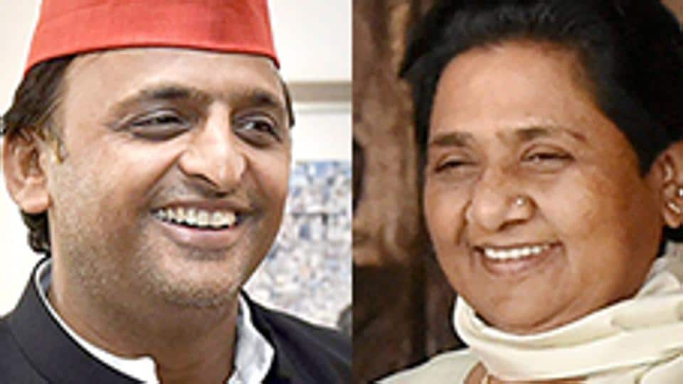 Uttar Pradesh CM Akhilesh Yadav made an oblique reference to a possible alliance with Mayawati's BSP while responding to the exit polls predictions on March 9, 2017.