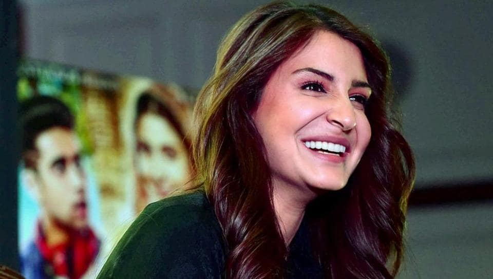 Anushka Sharma addressed a press conference in Bhopal. (PTI)