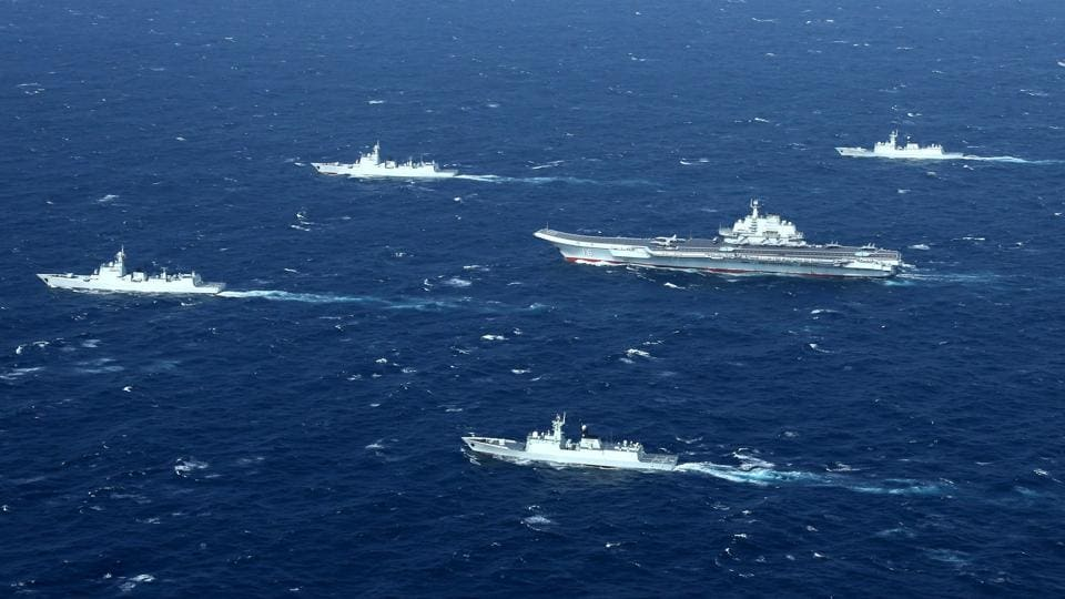 The Japanese and US navies are conducting joint exercises in the East China Sea. The drill involves Japanese destroyers and a US Navy carrier strike group.