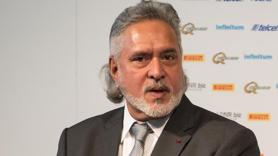 Vijay Mallya attends the launch of the Sahara Force India Formula One car for the 2017 season at the Silverstone motor racing circuit near Towcester, central England on February 22, 2017.