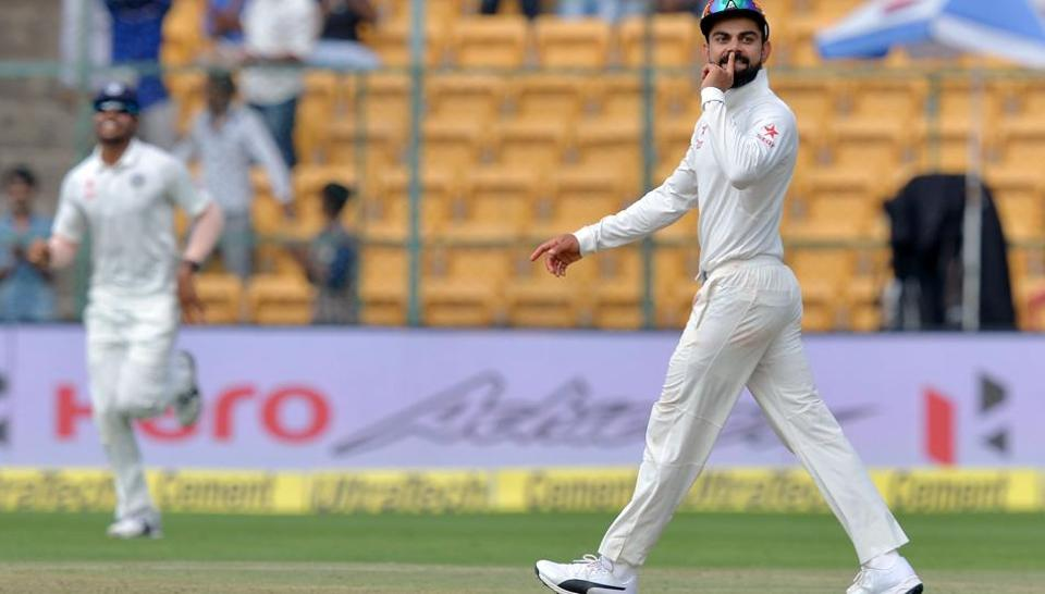 Virat Kohli won the Polly Umrigar award for BCCI's International Cricketer of the Year at the cricket Board's annual awards in Bangalore on Wednesday.