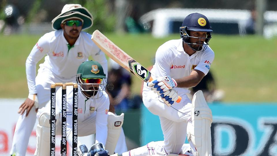 Sri Lanka have given Bangladesh a target of 457 in the first Test match.Get full cricket score of Sri Lanka vs Bangladesh after Day play here.
