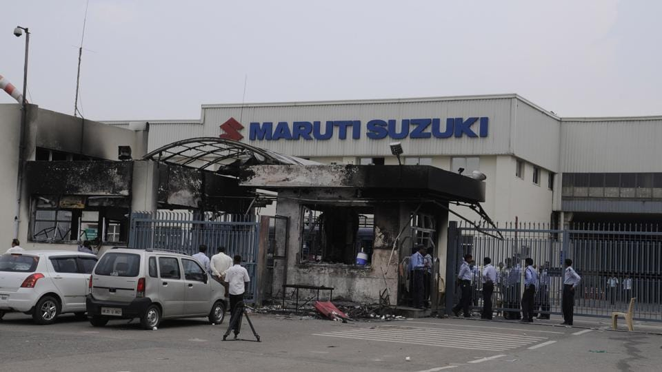 In 2012, violence broke out in Maruti Suzuki plant in Manesar where a general manager was burnt to death and several executives were injured.