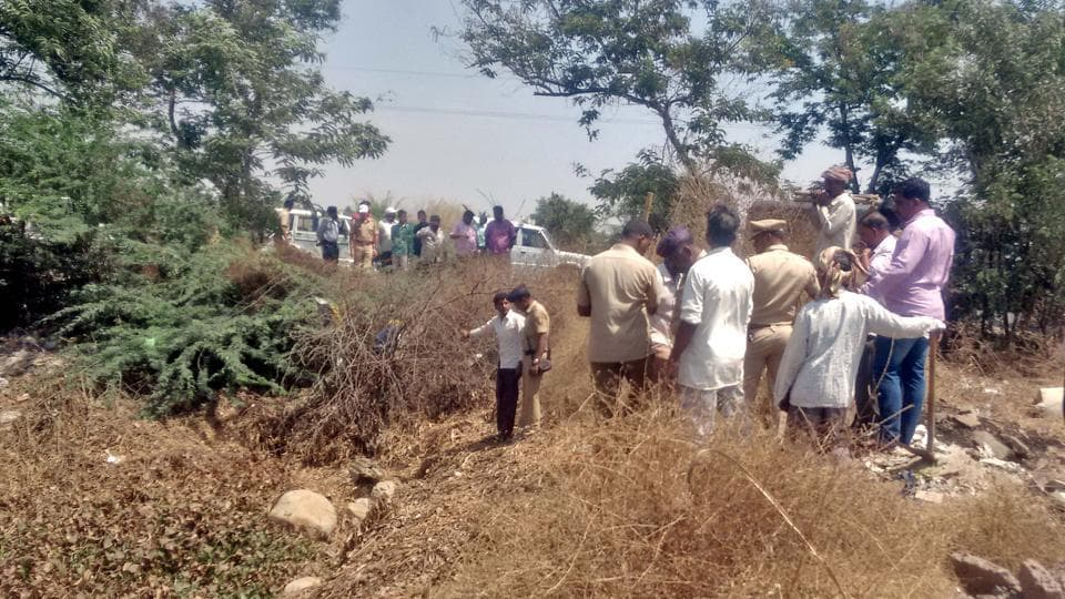 The female foetuses were found on Sunday dumped near a stream at Mhaisal village in Sangli district.