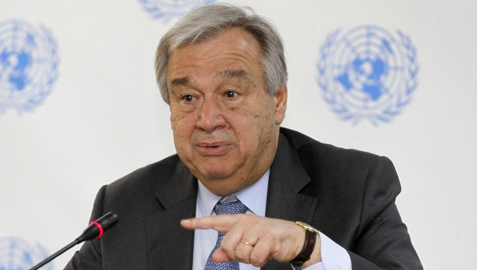 Antonio Guterres,UN Peacekeepers,Sex Abuse