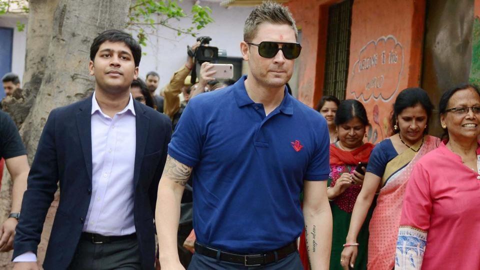 Mitchell Starc,Michael Clarke,India vs Australia