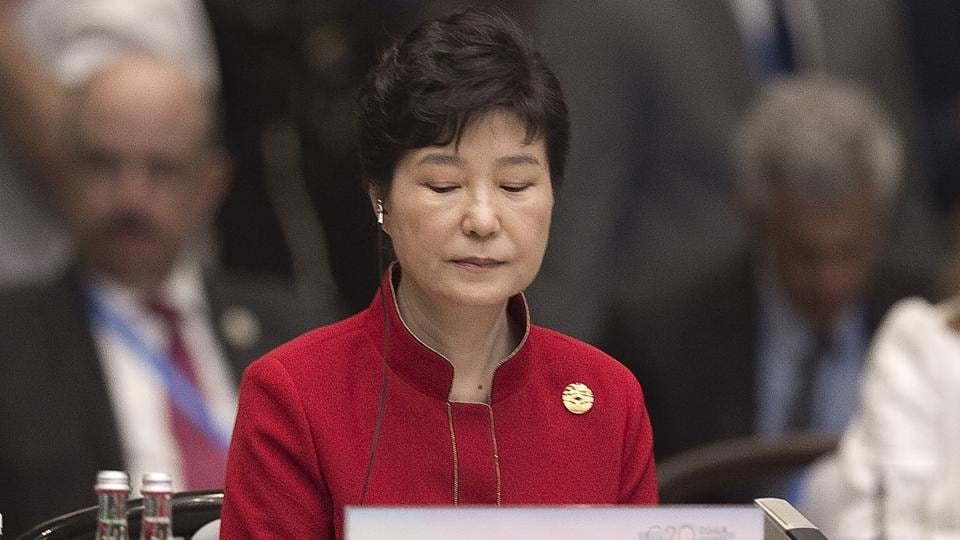 In this file photo, South Korea's President Park Geun-Hye is seated during the opening ceremony of the G-20 Leaders Summit in Hangzhou, China. In a historic ruling, South Korea's Constitutional Court formally removed impeached President Park Geun-hye from office over a corruption scandal that has plunged the country into political turmoil, worsened an already-serious national divide and led to calls for sweeping reforms.
