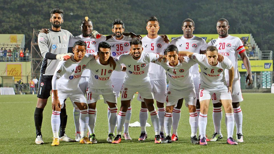 Aizwal FC were held to a 2-2 draw by Minerva Punjab FC in their I-League encounter.