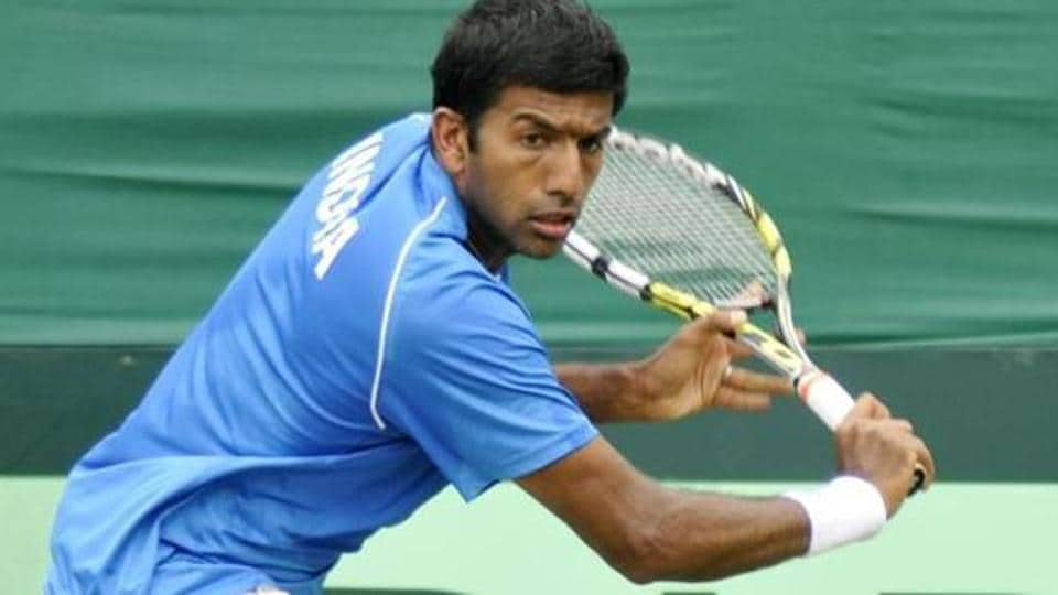 Rohan Bopanna-Pablo Cuevas were beaten by Novak Djokovic and Viktor Troicki  in the ATP Indian Wells Masters.